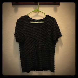 Size large Notations Blouse.